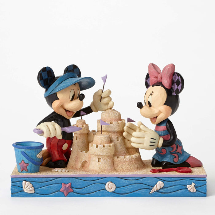 Enesco : Disney Traditions - Seaside Mickey and Minnie
