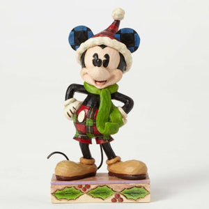 Enesco : Disney Traditions - Merry Mickey - Sheldonet Toy Store