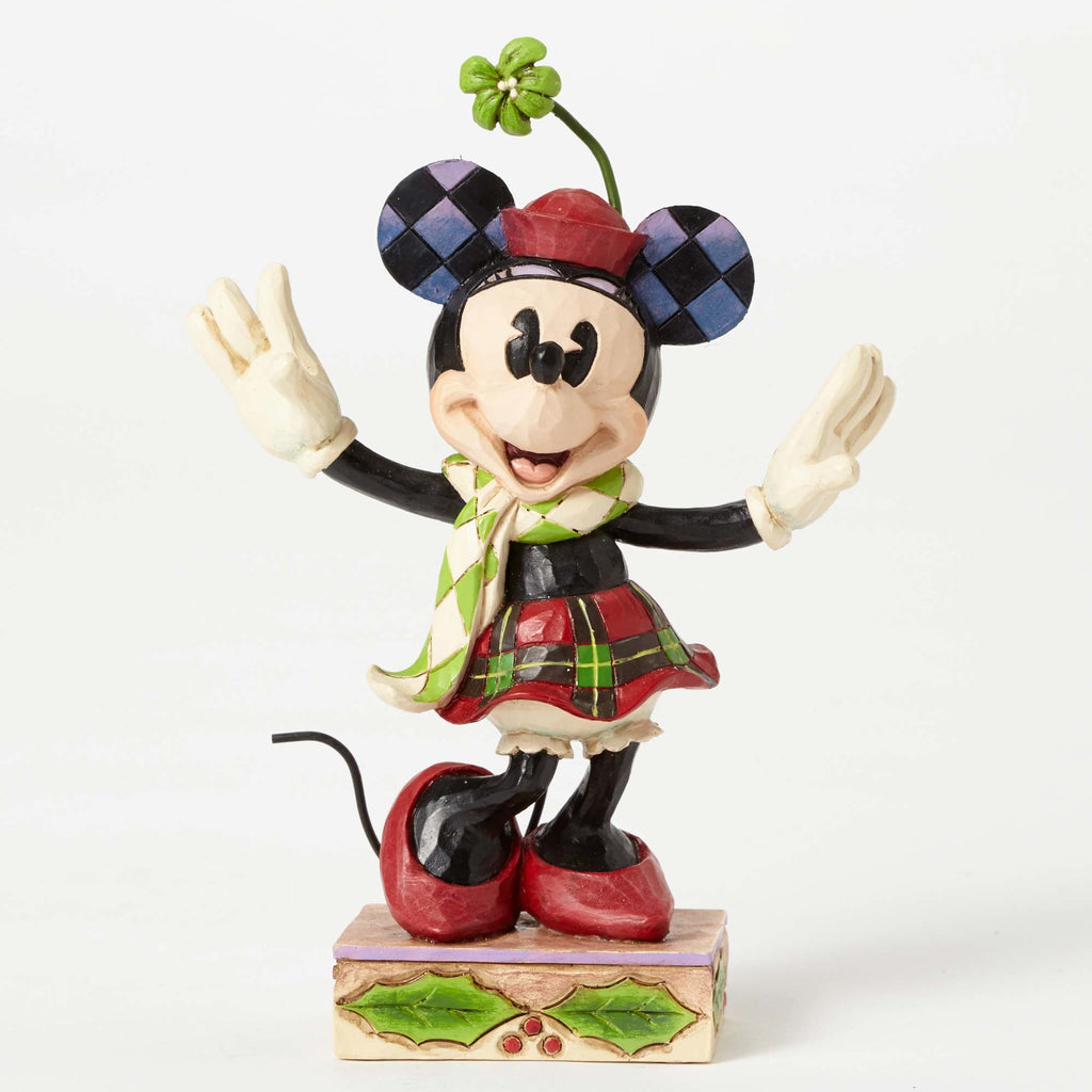 Enesco : Disney Traditions - Merry Minnie Mouse - Sheldonet Toy Store