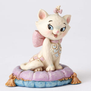 Enesco : Disney Traditions - Mini Marie On A Pillow - Sheldonet Toy Store