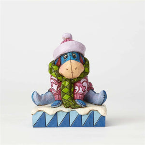 Enesco : Disney Traditions - Winter Eeyore - Sheldonet Toy Store