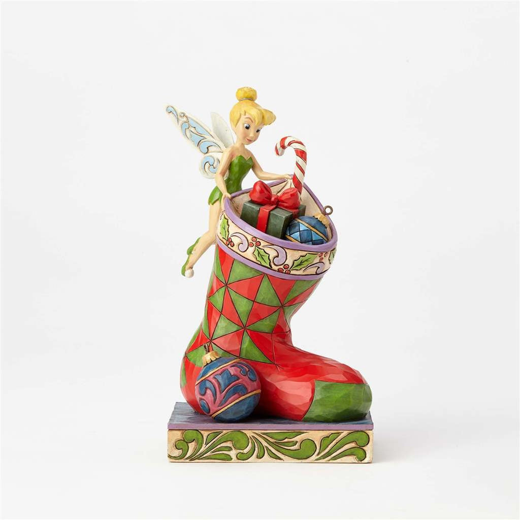 Enesco : Disney Traditions - Christmas Tinker Bell - Sheldonet Toy Store