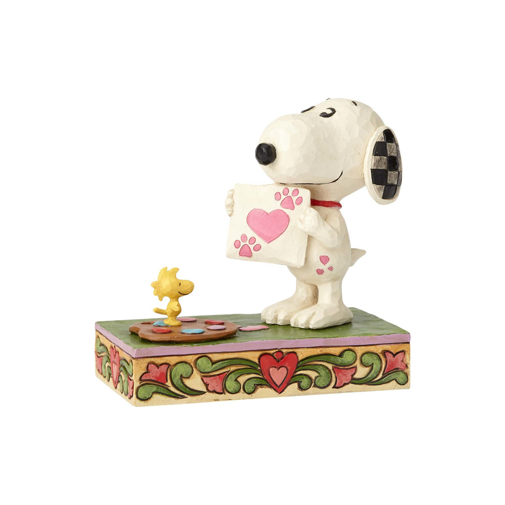 Enesco : Peanuts by Jim Shore - Snoopy Work Of Heart - Sheldonet Toy Store