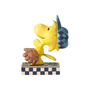 Enesco : Peanuts by Jim Shore - Woodstock Baseball - Sheldonet Toy Store