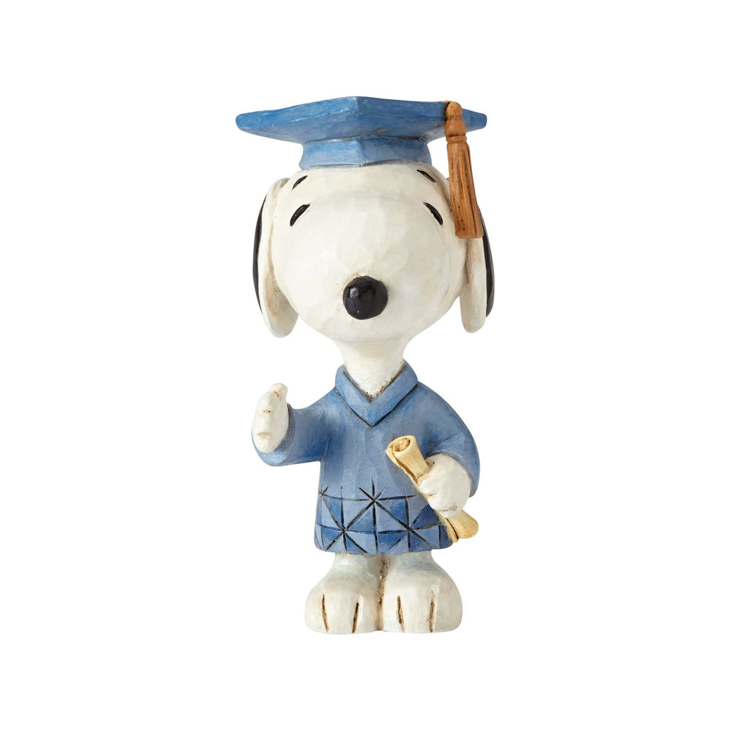 Enesco : Peanuts by Jim Shore - Graduation Snoopy - Sheldonet Toy Store