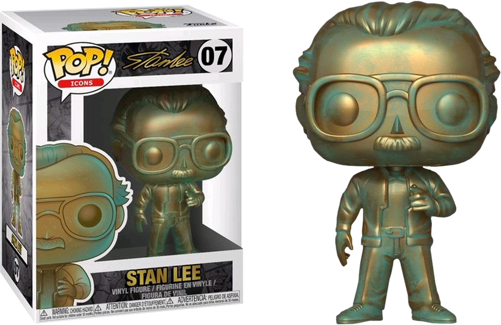 Pop! Icons: Stan Lee Patina - Sheldonet Toy Store