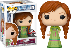 Pop! Disney: Frozen 2 - Anna With Nightgown [Exclusive] - Sheldonet Toy Store