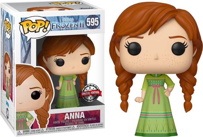 Pop! Disney: Frozen 2 - Anna With Nightgown [Exclusive]