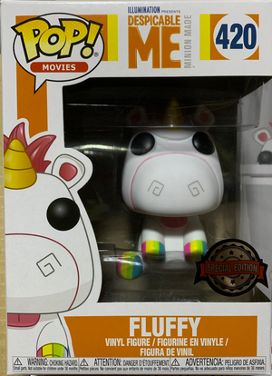 Pop! Movies: Despicable Me 3 - Fluffy (Rainbow Hooves) [Exclusive] - Sheldonet Toy Store