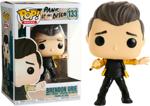 POP! Rocks: Panic at The Disco! - Brendon Urie [Exclusive] - Sheldonet Toy Store