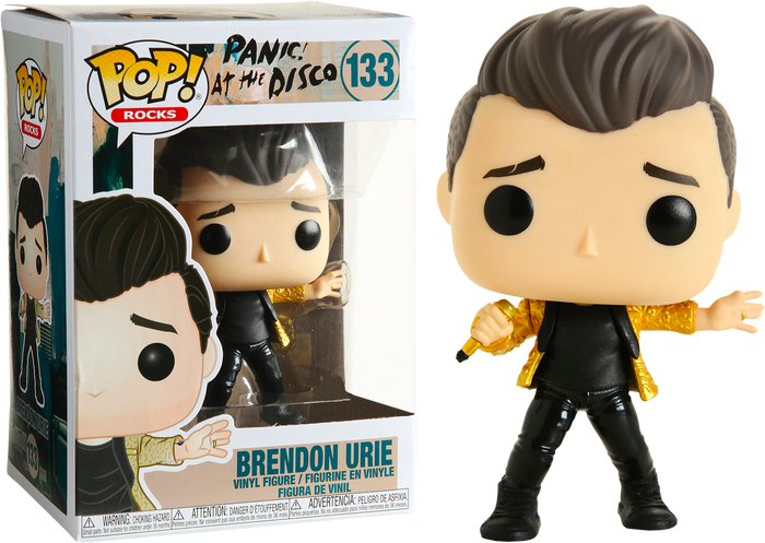 POP! Rocks: Panic at The Disco! - Brendon Urie [Exclusive]