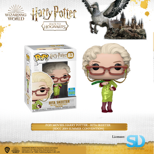 POP! Movies: Harry Potter - Rita Skeeter [SDCC 2019 Summer Convention] - Sheldonet Toy Store