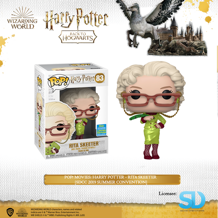 POP! Movies: Harry Potter - Rita Skeeter [SDCC 2019 Summer Convention]