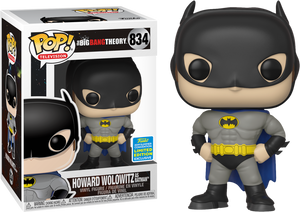 POP! TV: The Big Bang Theory - Howard as Batman [SDCC 2019 Summer Convention] - Sheldonet Toy Store