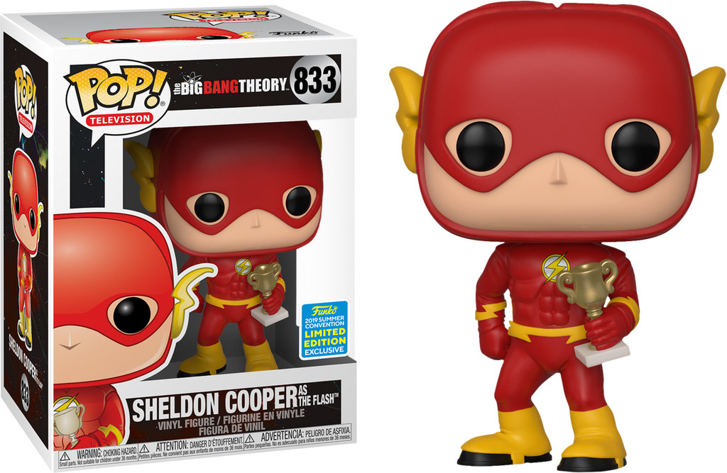 POP! TV: The Big Bang Theory - Sheldon as Flash [SDCC 2019 Summer Convention] - Sheldonet Toy Store