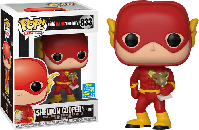 POP! TV: The Big Bang Theory - Sheldon as Flash [SDCC 2019 Summer Convention]