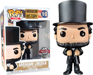 POP! Icons: History - Abraham Lincoln (Exclusive) - Sheldonet Toy Store