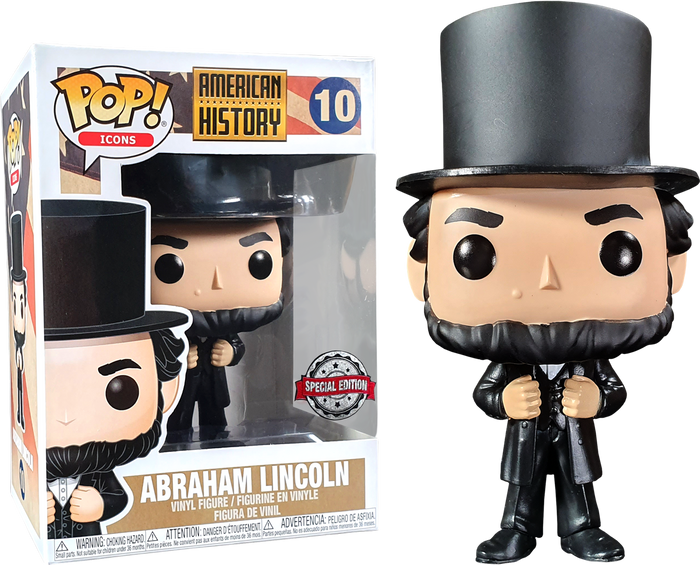 POP! Icons: History - Abraham Lincoln (Exclusive)