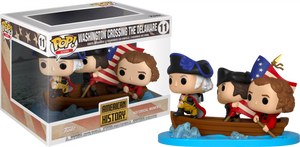 POP! Moments: History - George Washington Crossing Delaware River (Exclusive) - Sheldonet Toy Store