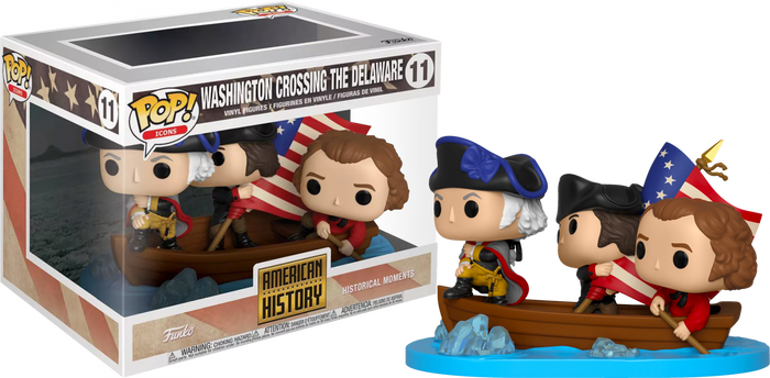 POP! Moments: History - George Washington Crossing Delaware River (Exclusive)