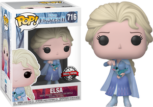 Pop! Disney: Frozen 2 - Elsa With Salamander [Exclusive] - Sheldonet Toy Store
