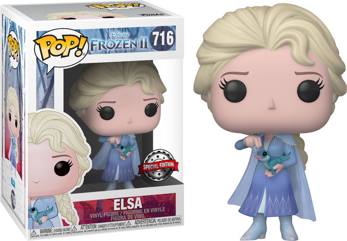 Pop! Disney: Frozen 2 - Elsa With Salamander [Exclusive]