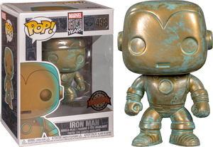 POP! Marvel: Marvel 80th - Iron Man (Patina) [Exclusive] - Sheldonet Toy Store