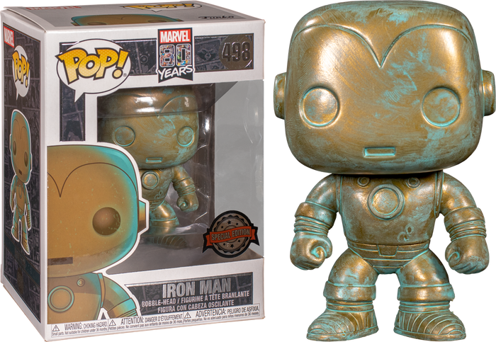 POP! Marvel: Marvel 80th - Iron Man (Patina) [Exclusive]