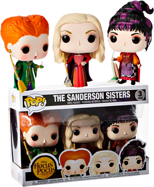 POP! Disney : Hocus Pocus - The Sanderson Sisters 3 Pack [Exclusive] - Sheldonet Toy Store