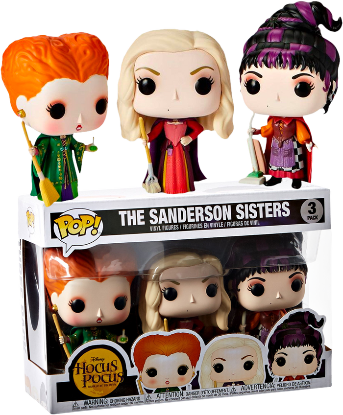 POP! Disney : Hocus Pocus - The Sanderson Sisters 3 Pack [Exclusive]