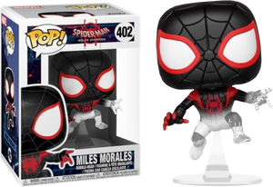 Pop! Marvel: Into the Spider-verse - Miles Morales Translucent (Exclusive) - Sheldonet Toy Store