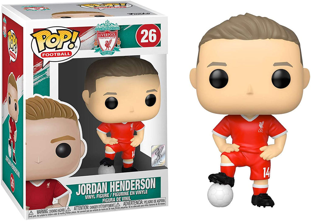Funko Pop! Football: Liverpool - Jordan Henderson - Sheldonet Toy Store