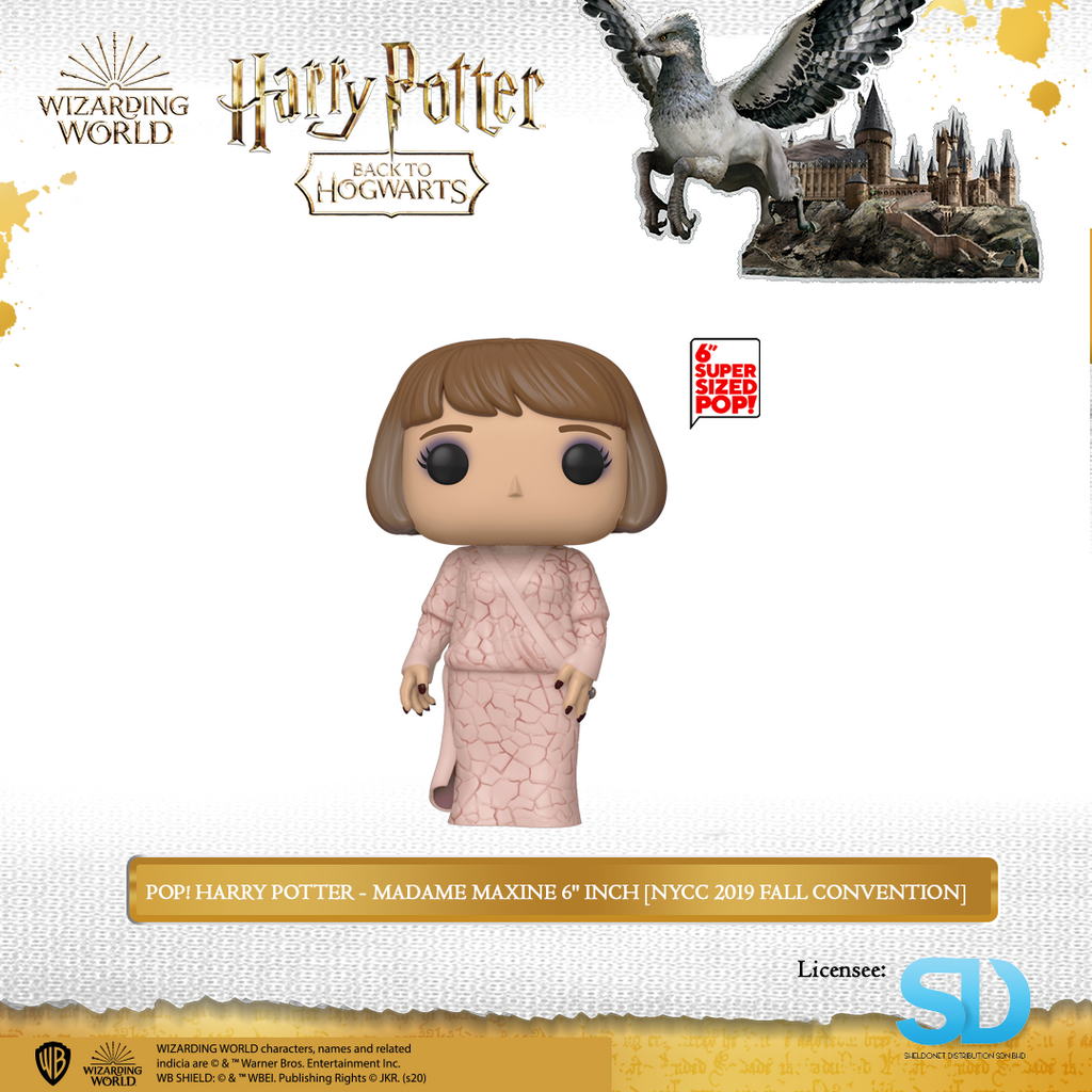 "POP! Harry Potter - Madame Maxine 6"" Inch  [NYCC 2019 Fall Convention] - Sheldonet Toy Store"