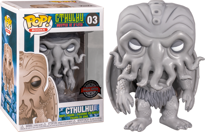 Pop! Books: Horror - Cthulhu (Black and White) [Exclusive]