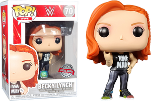 POP! WWE: Becky Lynch (The Man) [Exclusive] - Sheldonet Toy Store