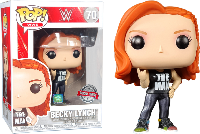 POP! WWE: Becky Lynch (The Man) [Exclusive]