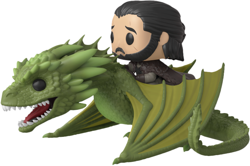 Pop! Rides: Game Of Thrones - Jon Snow with Rhaegal - Sheldonet Toy Store