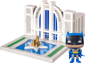 Pop! Towns: Batman 80th - Hall of Justice with Batman - Sheldonet Toy Store