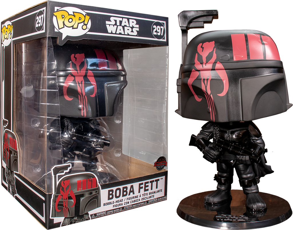 "POP! Star Wars: Boba Fett 10"" Inch (Exclusive) - Sheldonet Toy Store"