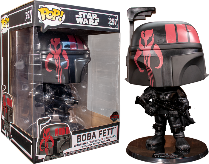 "POP! Star Wars: Boba Fett 10"" Inch (Exclusive)"