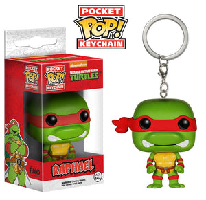 Pocket POP! Keychain : TMNT - Raphael - Sheldonet Toy Store