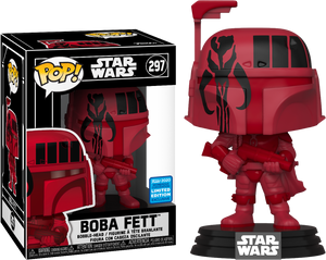 Pop! Star Wars: Boba Fett with Mandalorian Symbol in Pop! Protector [Wondrous Convention Exclusive 2020] - Sheldonet Toy Store