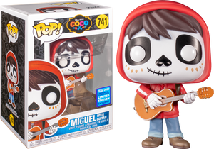 Pop! Disney: Coco - Miguel with Guitar [Wondrous Convention Exclusive 2020] - Sheldonet Toy Store