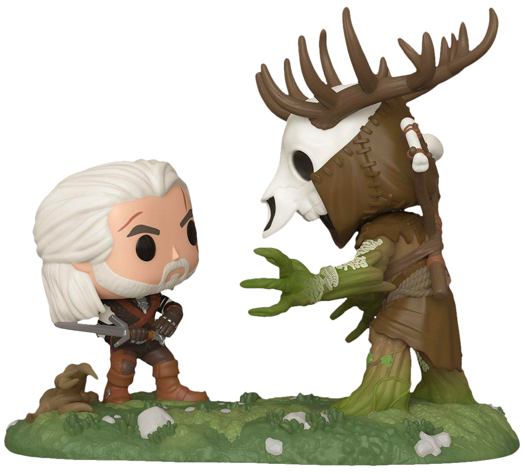 Pop! Game Moments: The Witcher - Geralt vs Leshen - Sheldonet Toy Store