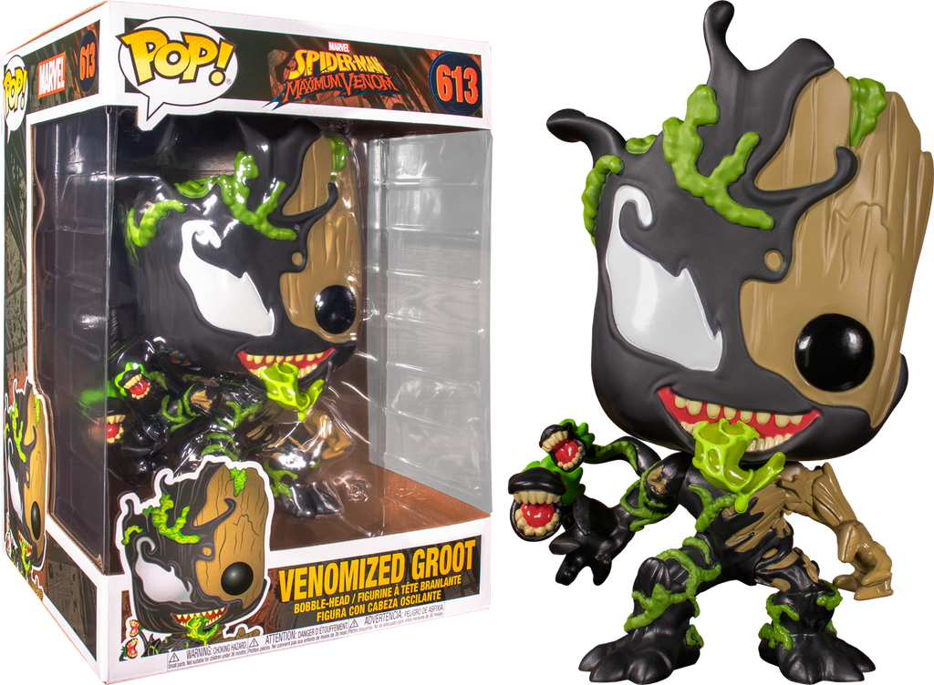 "Pop! Marvel: Maximum Venom - Venomized Groot 10"" Inch - Sheldonet Toy Store"