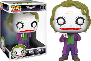 "Pop! Heroes: DC's The Dark Knight - The Joker 10"" Inch - Sheldonet Toy Store"
