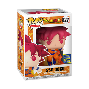[In-Stock] Pop! Animation: Dragonball Super -SS God Goku [SDCC Summer Convention 2020] - Sheldonet Toy Store