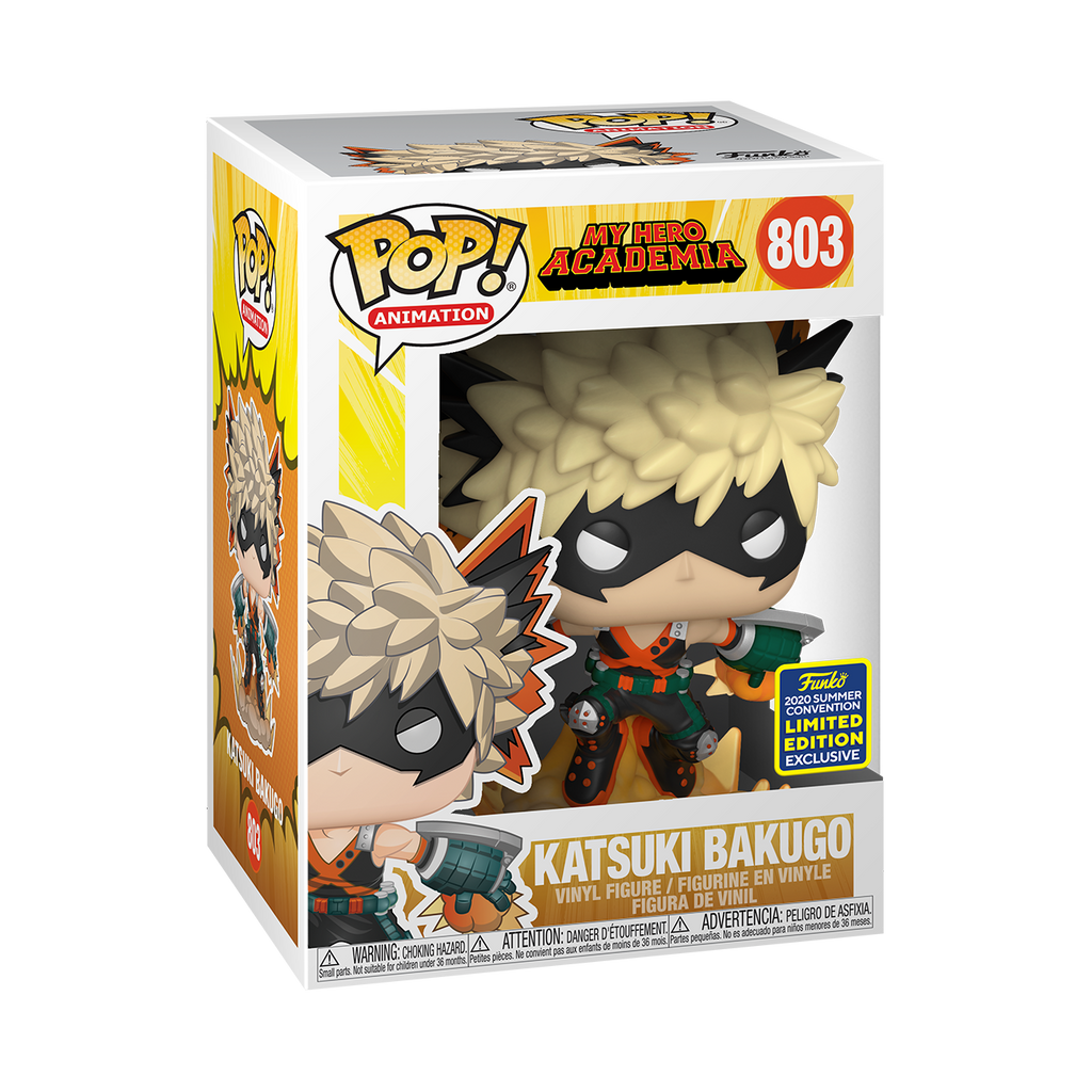 [In-Stock] Pop! Animation: My Hero Academia - Bakugo [SDCC Summer Convention 2020] - Sheldonet Toy Store