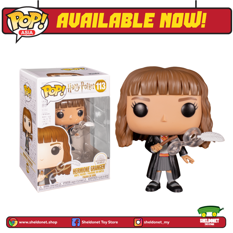 Pop! Movies: Harry Potter - Hermione Granger with Feather - Sheldonet Toy Store
