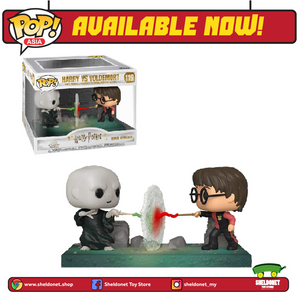 Pop! Movie Moments: Harry Potter - Harry Potter vs Voldemort - Sheldonet Toy Store